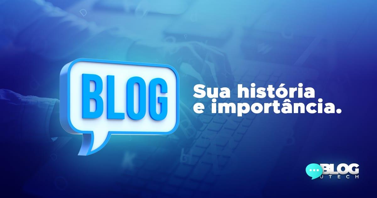 a historia do blog