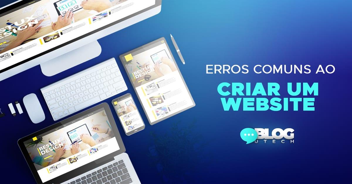 Erros comuns ao criar um website