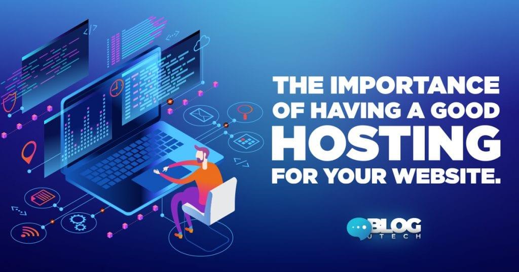 importance hostinh for your website